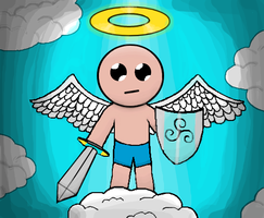 The Binding of Isaac: Isaac the Angel by Gianluca850