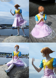 Past Pearl cosplay by AikenLugiA