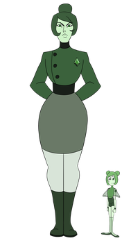 SU Adopts - Green Diamond and Green Pearl -CLOSED- by JoTehDemonicPickle