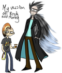 My headcanon version of Rick and Morty by ReneesInnerIrken