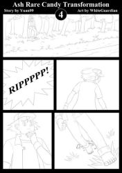 COM : Ash Rare Candy Transformation Comic Page 4 by whiteguardian