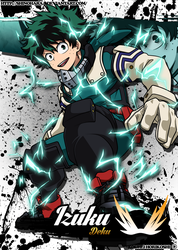 Izuku Midoriya -Shoot Style- by Shinoharaa