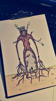 Forest Monster by pincello