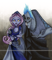 Hades + Persephone by Violet--Gypsy