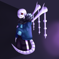 Anti Glitch Sans by StoileArt