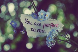 you are perfect to me. by this-is-the-life2905