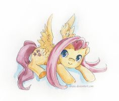 Fluttershy by Tirass