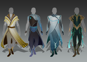 (CLOSED) - Male Outfit Adoptable Set #013 by Timothy-Henri
