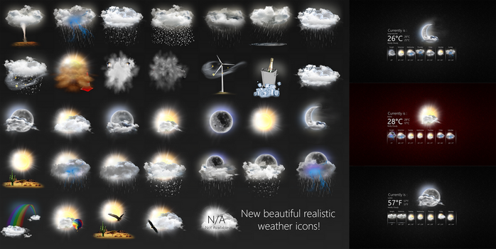 Realistic Weather Forecast 3  by HipHopium