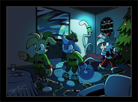 Holiday stealth mission by wisp2007
