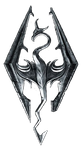 Skyrim Logo: For Your Skyrim Needs by Lady-Elizriel
