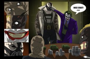 Gotham Rogues Poker Night by darknight7