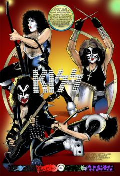 KISS Pre History Comic 1 pg 32 by scottepentzer