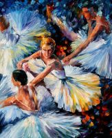 Before The Performance by Leonid Afremov by Leonidafremov