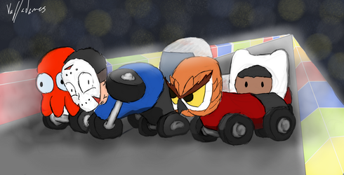 Cars, Team Hoodini by ThatOneFan095