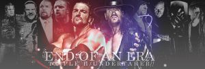 END OF AN ERA - Triple H Undertaker by findmyart