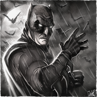 The Dark Knight by JakkeV