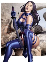 PATREON - Psylocke Apocalypse by DarkShadowArtworks