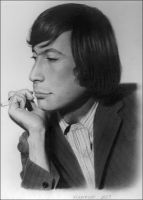 Charlie Watts in pinstripes by jenny-rotten
