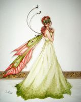 Masked ball Fairy by artwoman3571
