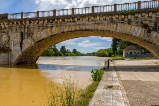 Flooding Adour 4 by Markotxe