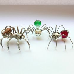 A Lot of Legs (Watch Parts Spiders) by AMechanicalMind