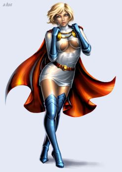 Power Girl IV by Candra
