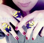 Minion Rings by Yumchaa