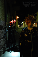 Axel and Roxas - No one would miss me... by VersusMemories