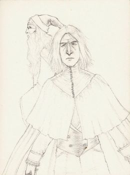 Snape and Dumbledore by Maitia