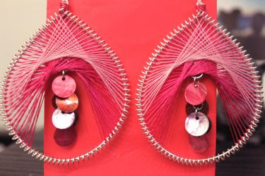 Thread Earrings by minhdo