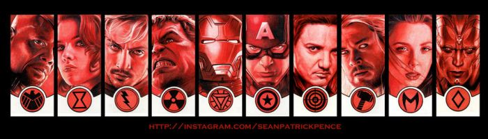 AVENGERS Age of Ultron by S-von-P