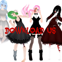 Halloween Models  DOWNLOAD by VocaGUMImegpoid
