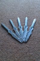 Phoenix Throwing Knives by Fraxuur