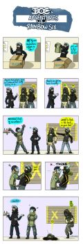 Doc's Adventure: Rook and his uniform by Dulcamarra
