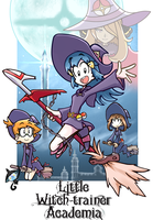 Little Witch-Trainer Academia by Andres2610