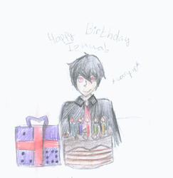 Happy-late- Birthday Izaya by Infinity1028