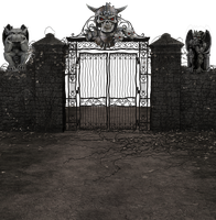 Gates to Hell png by mysticmorning