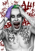 The Joker in Suicide Squad by sergioargentino22