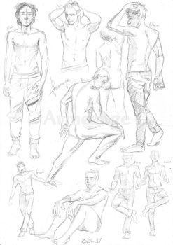 Male study 2 by Arineange