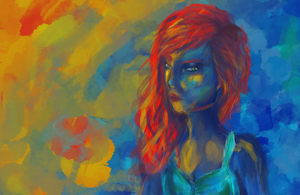 Speed Paint - color porn by LyraAbyss
