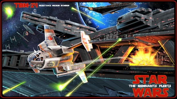 STAR WARS the remnant fleet by pyraker