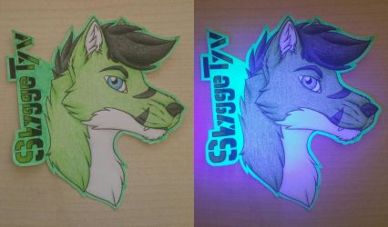 Skygge Tyv Gift Badge by MrMyOwnArt