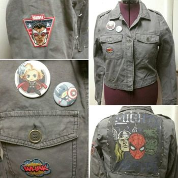 Avengers Jacket!  by Sew-it-all