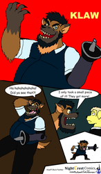 Hyena Klaw by NightCrestComics
