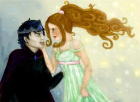 Hades and Persephone by DottyDrama