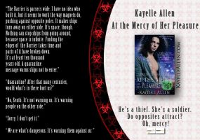 Banner: At the Mercy of Her Pleasure by kayelleallen