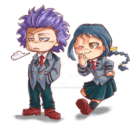 Hitoshi and Koe by KarasuTenguProyectos