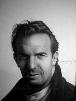 KEVIN COSTNER by MiroDesign