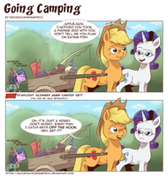 Going Camping by saturdaymorningproj